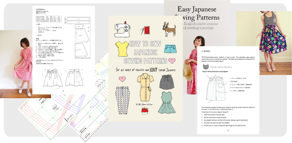 Japanese Sewing Patterns How To Sew Japanese Sewing Patterns Custom Sew Patterns